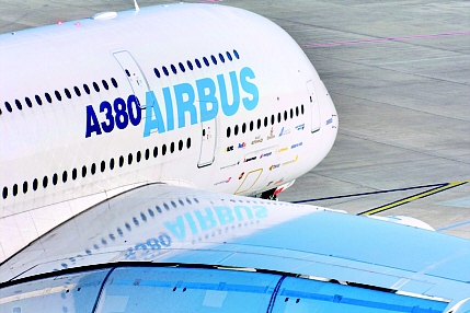 Nanocomposite coatings in air conditioner elements could provide an energy-efficient way of clearing ozone from outside air before it enters the cabin in planes such as the Airbus A380